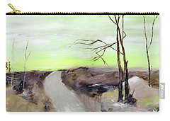 Carry-all Pouch featuring the painting Wilderness 2 by Anil Nene
