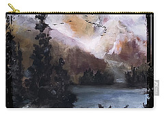 Wilderness Mountain Landscape Carry-all Pouch