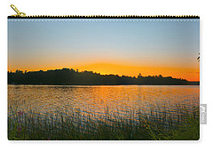 Wilderness Point Sunset Panorama Carry-all Pouch