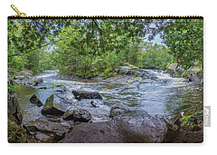 Carry-all Pouch featuring the photograph Wilderness Waterway by Bill Pevlor