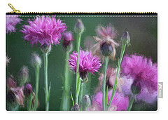 Wildflower Art 2 Carry-all Pouch by Bonnie Bruno