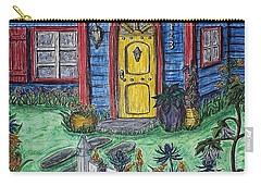 Wildflower Cottage Carry-all Pouch