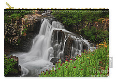 Wildflower Falls Carry-all Pouch