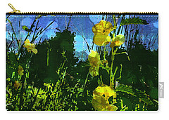 Carry-all Pouch featuring the photograph Wildflower Field by Shawna Rowe