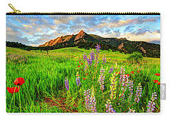 Wildflower Mix Carry-all Pouch by Scott Mahon