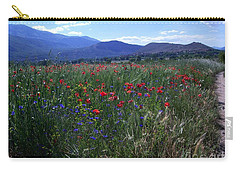Wildflower Path Carry-all Pouch