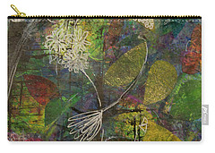 Wildflower Two Carry-all Pouch