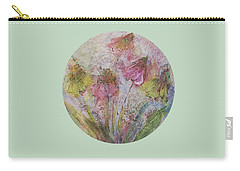 Carry-all Pouch featuring the painting Wildflowers 2 by Mary Wolf