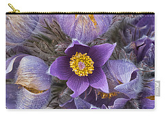 Wildflowers At The Delta Junction Bison Range Carry-all Pouch
