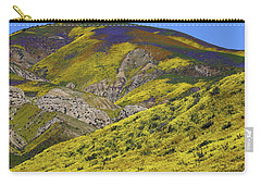 Wildflowers Galore At Carrizo Plain National Monument In California Carry-all Pouch