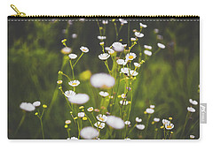 Carry-all Pouch featuring the photograph Wildflowers In Summer by Shelby Young