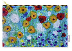 Wildflowers Never Die Carry-all Pouch