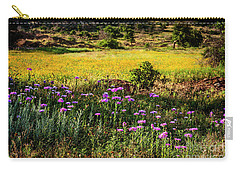 Wildflowers Of The Wichita Mountains Carry-all Pouch by Tamyra Ayles