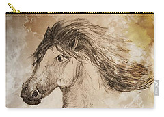 Wildheart Carry-all Pouch by Maria Urso