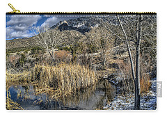 Wildlife Water Hole Carry-all Pouch by Alan Toepfer