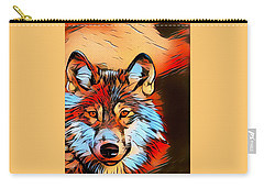 Wildlife Wolf 1 Carry-all Pouch