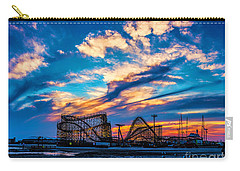 Wildwood Beach Sunset Carry-all Pouch