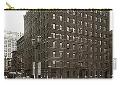 Wilkes Barre Pa Hollenback Coal Exchange Building Corner Of Market And River Sts April 1937 Carry-all Pouch