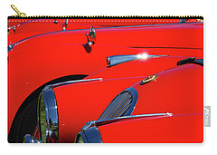 Carry-all Pouch featuring the photograph Will The Owner Of The Red Car by John Schneider