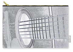 Carry-all Pouch featuring the photograph Will You Play For Me by Rhonda McDougall
