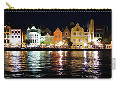Carry-all Pouch featuring the photograph Willemstad, Island Of Curacoa by Kurt Van Wagner