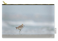 Willet On One Leg Carry-all Pouch