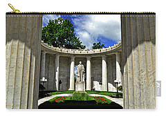 Carry-all Pouch featuring the photograph William Mckinley Memorial 002 by George Bostian