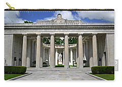 Carry-all Pouch featuring the photograph William Mckinley Memorial 003 by George Bostian
