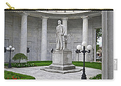 Carry-all Pouch featuring the photograph William Mckinley Memorial 004 by George Bostian