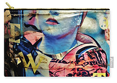 Williamsburg Brooklyn Woman Mural  Carry-all Pouch