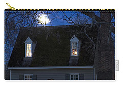 Williamsburg House In Moonlight Carry-all Pouch