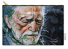 Willie Nelson 7 Carry-all Pouch by Laur Iduc