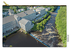 Willimantic River And Mill #2 Carry-all Pouch
