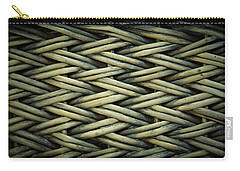 Carry-all Pouch featuring the photograph Willow Weave by Les Cunliffe