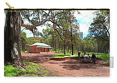Carry-all Pouch featuring the photograph Wilpena Pound Homestead by Bill Robinson