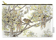 Wilson's Warbler Carry-all Pouch
