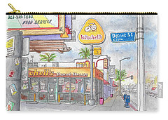 Winchells Donut House In Melrose And Detriot St., Hollywood, California Carry-all Pouch by Carlos G Groppa