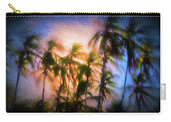 Wind And Palms Carry-all Pouch