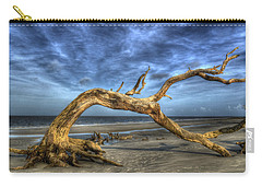 Wind Bent Driftwood Carry-all Pouch by Greg and Chrystal Mimbs