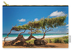 Wind Blown Tree Carry-all Pouch