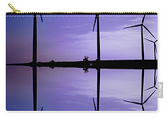 Wind Energy Turbines At Dusk Carry-all Pouch