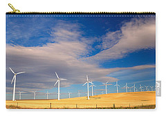 Wind Farm Against The Sky Carry-all Pouch