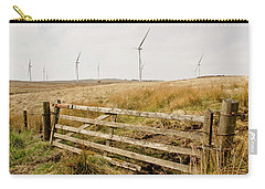 Wind Farm On Miller's Moss. Carry-all Pouch