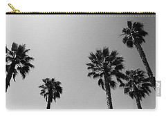 Wind In The Palms- By Linda Woods Carry-all Pouch by Linda Woods