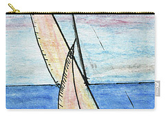 Wind In The Sails Carry-all Pouch by R Kyllo