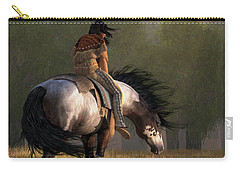 Wind Of The Forest Carry-all Pouch by Daniel Eskridge