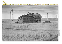 Carry-all Pouch featuring the photograph Wind On The Plains by Fran Riley