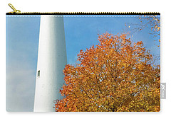 Wind Point Lighthouse In Autumn Carry-all Pouch by Ricky L Jones