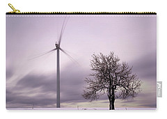 Wind Power Station, Ore Mountains, Czech Republic Carry-all Pouch