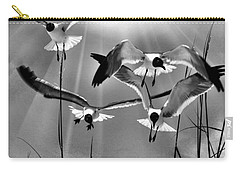 Wind Swept Bw Carry-all Pouch